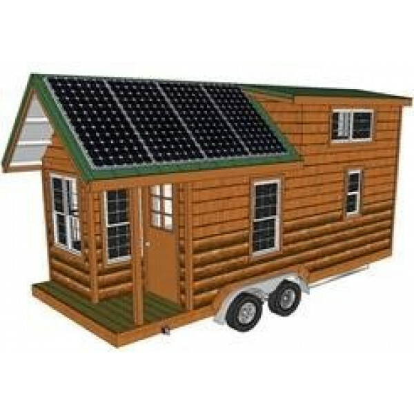 Tiny house energie systeem XL