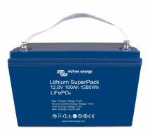 Victron Lithium Accu SuperPack 12,8V/100Ah (M8) hoge stroom