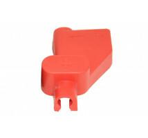 Accuklem isolatiekap rood (+) voor enkele kabel