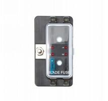 Zekering distributie 4 met led signalering / opbouw